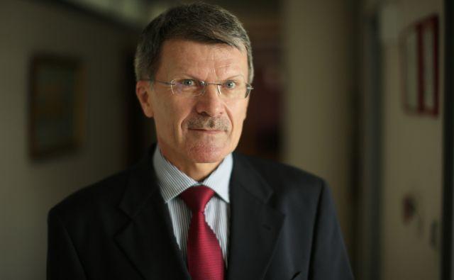 Stane Valant, menedžer in poslovnež v svoji pisarni v Ljubljani, Slovenija 8.oktobra 2014.