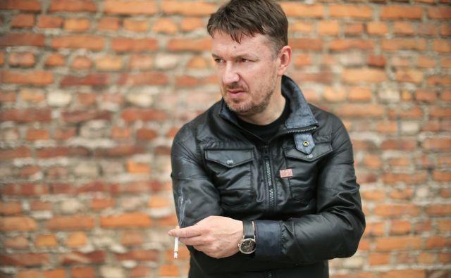 Diego de Brea slovenski gledališki režiser. Ljubljana, Slovenija 22.aprila 2015.