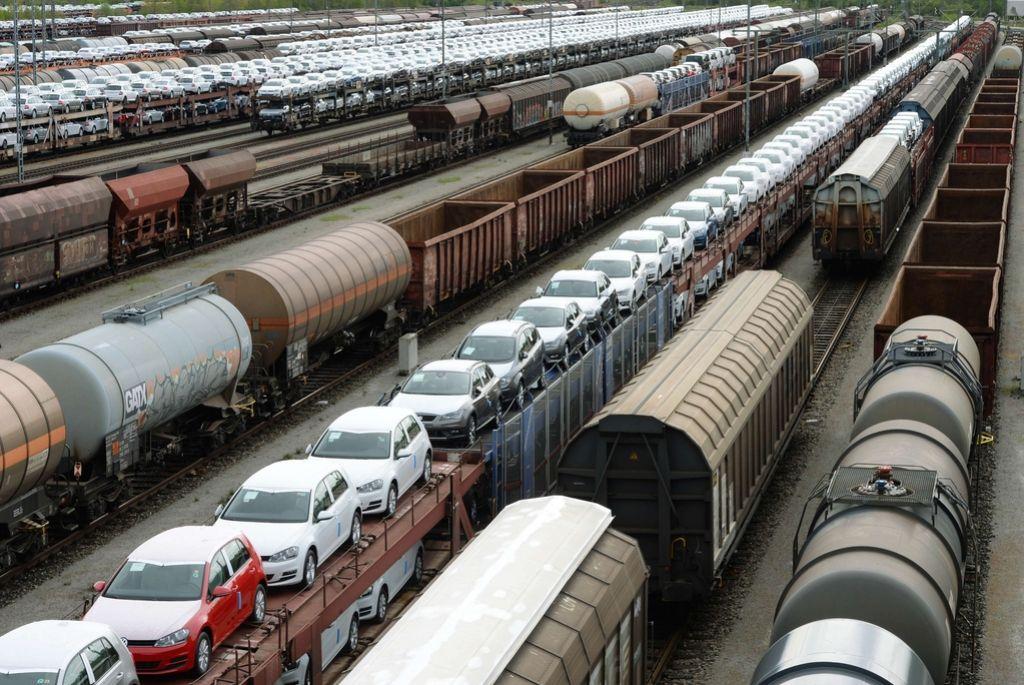 Nemški železniški promet omejen zaradi stavke