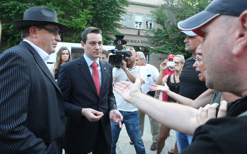 Mariborski župan Fištravec pri preiskovalni sodnici