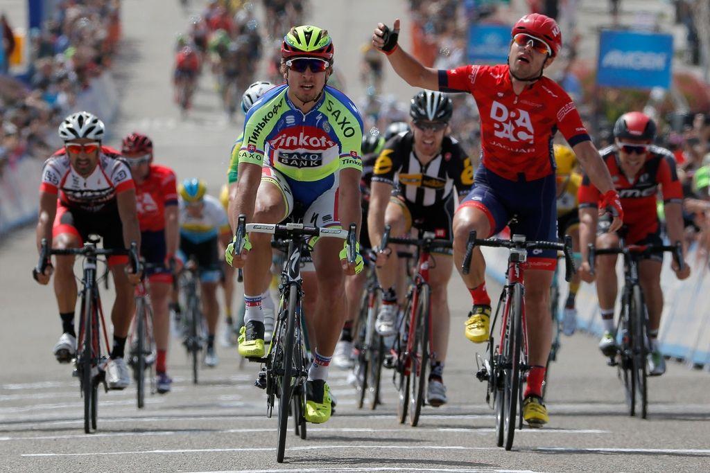 Po Kaliforniji: že dvanajsta etapna zmaga Petra Sagana
