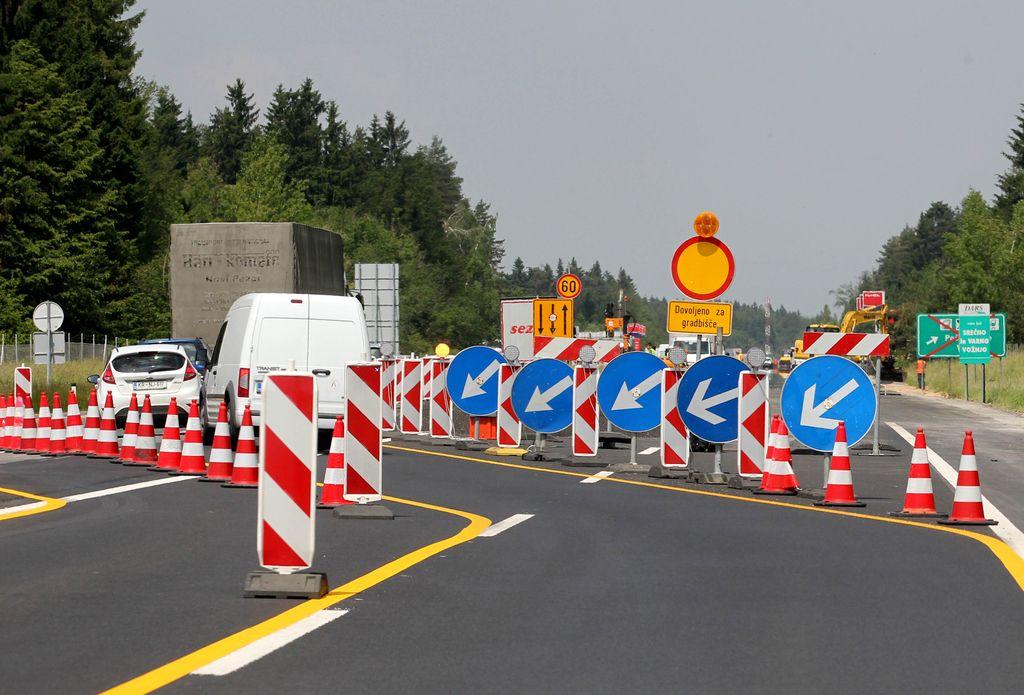 Na avtocesti vozil v nasprotno smer