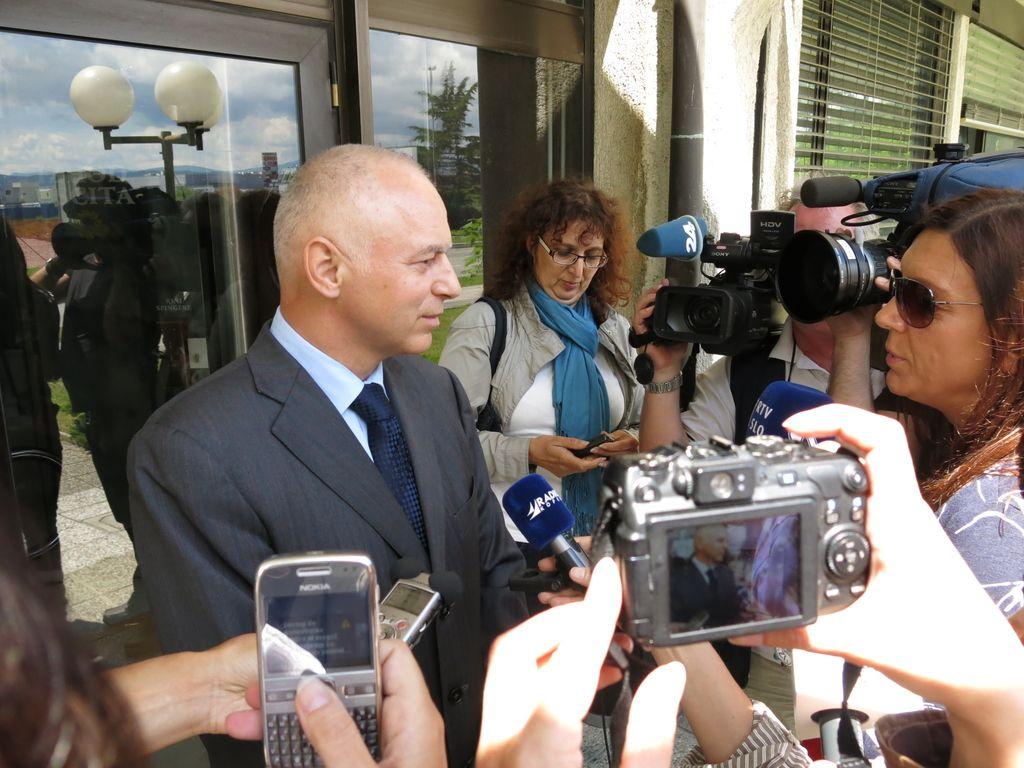 Andrej Lovšin želi, da mu odvetnika plača država