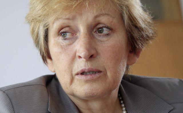 Irena Majcen, ministrica za okolje in prostor v Ljubljani, 13. Oktobra 2014