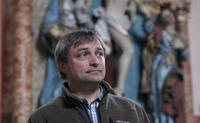 Pater Branko Cestnik. V Frankolovem 27.5.2015