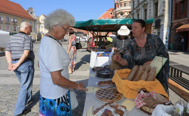Eko tržnica na Glavnem trgu, 5.6.2015, Maribor