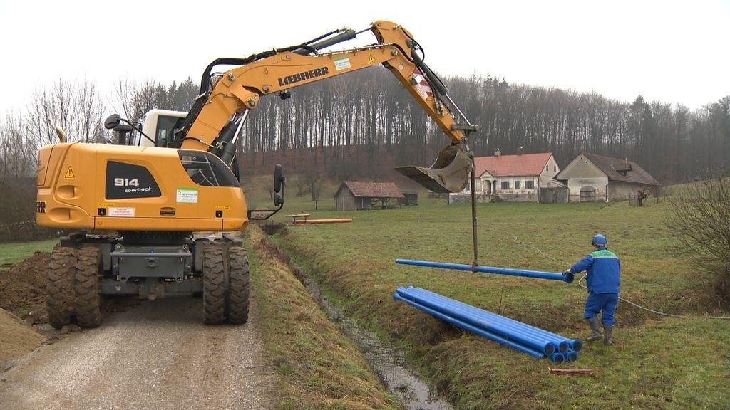 Koroške občine dobile evropski denar za varno preskrbo z vodo