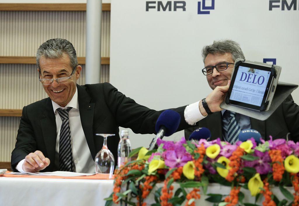 Družba FMR je postala lastnica Dela