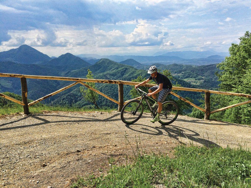 Po celjskem gozdu z gorskimi kolesi