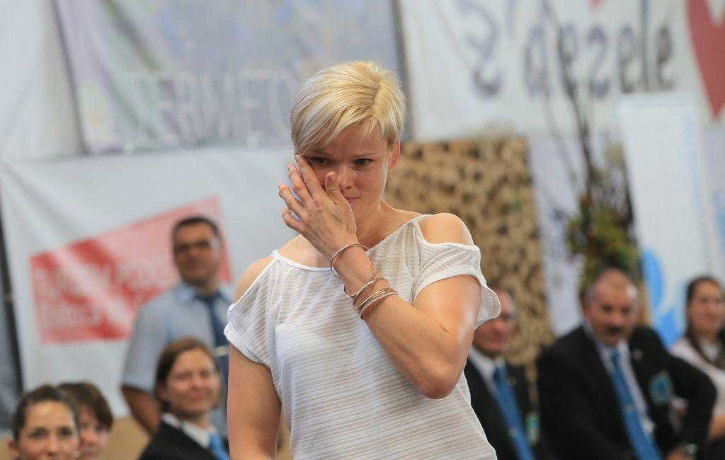 Urška Žolnir v Podčetrtku uradno končala kariero