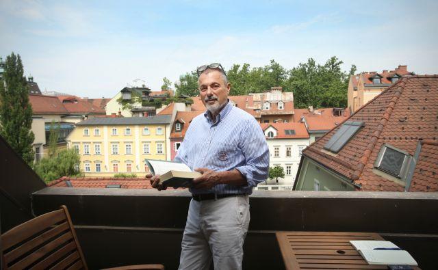 Peter Jambrek slovenski pravnik, politik in sociolog. Ljubljana, Slovenija 14.junija 2015.