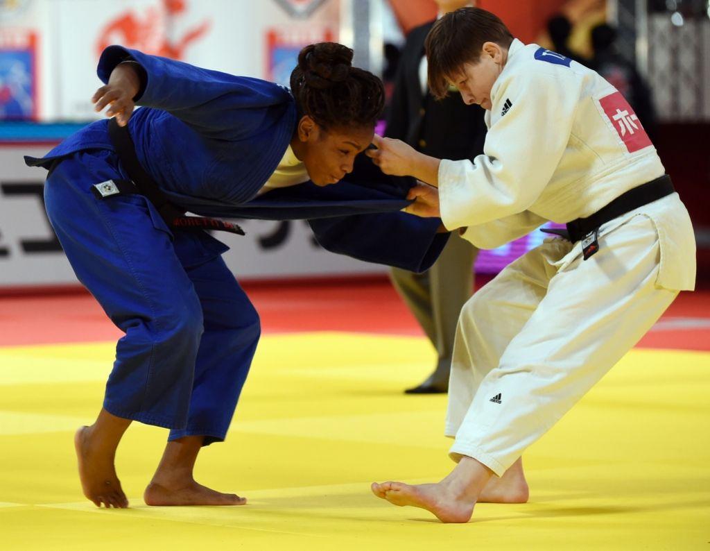 Trstenjakova in Ceraj slovenska judoista leta