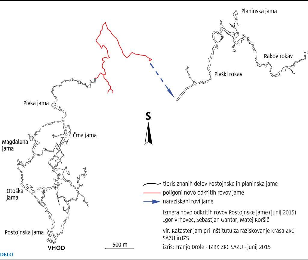 Jamarji potapljači Postojnsko jamo podaljšali za 3,5 kilometra