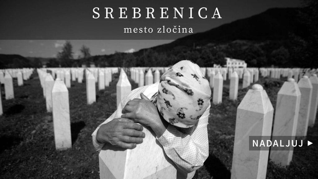 Srebrenica – mesto zločina