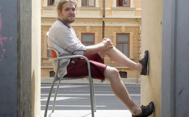 Luka Majcen študent filozofije. V Ljubljani 29.6.2016