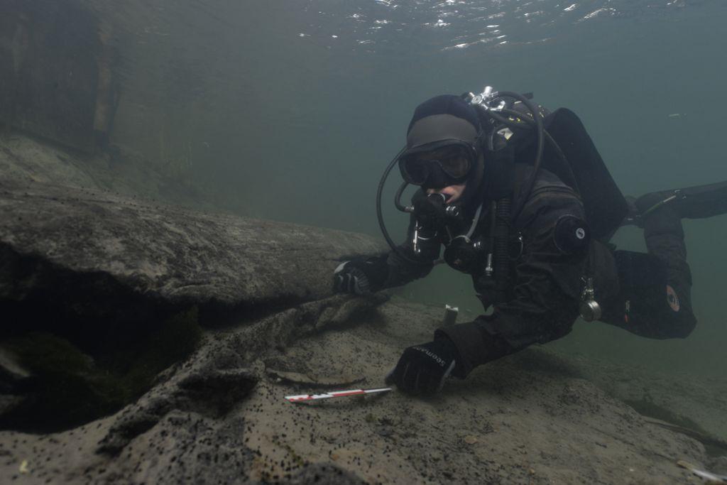 Pri izkopavanju deblaka odkrili še rimsko ladjo