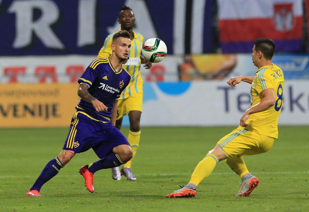 Mariborčani v Astani končali evropsko sezono