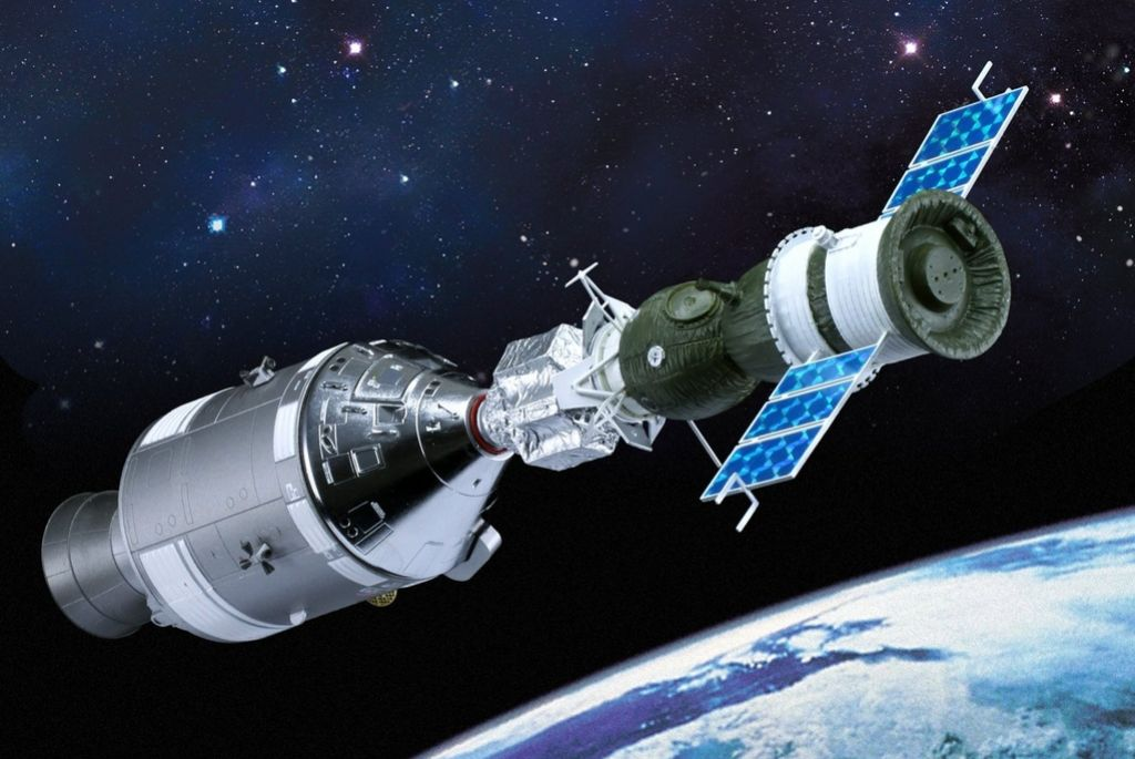 Obletnica vesoljske združitve Apolla in Sojuza