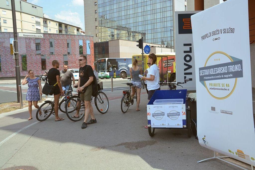 Podjetja naj bodo do kolesarjev prijazna