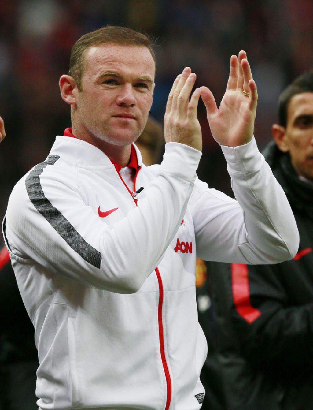 Wayne Rooney tretjič očka