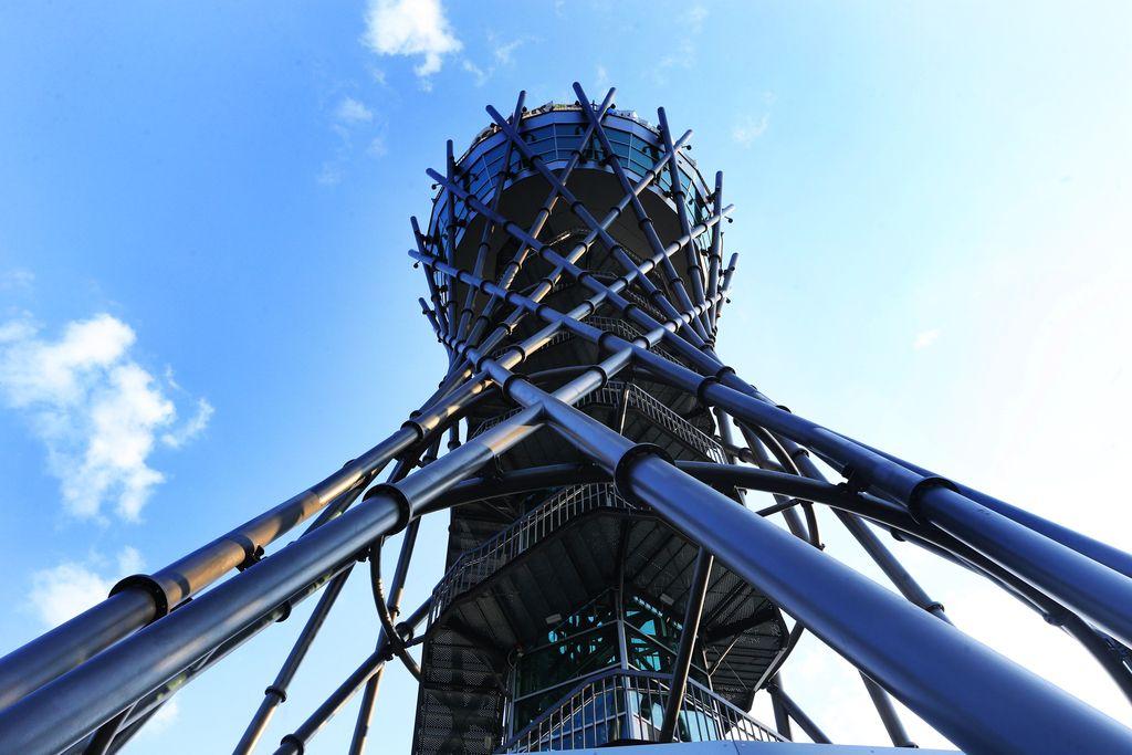 S pomurskega Eiffla nese pogled v štiri države