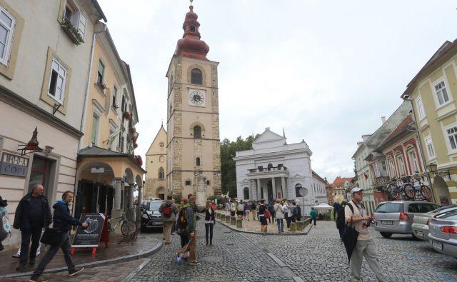 Turistične destinacije Ptuj, Slovenski trg, 20.8.2015, Ptuj [Ptuj, Slovenski trg, turizem]