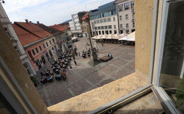 Turistične destinacije Maribora, Grajski trg, 24.8.2015, Maribor [Maribor, Grajski trg, Florjan]