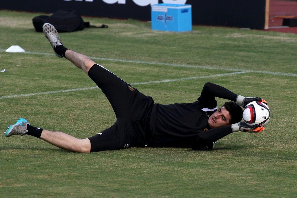 Nogometni svet: Courtois bo počival do osem tednov