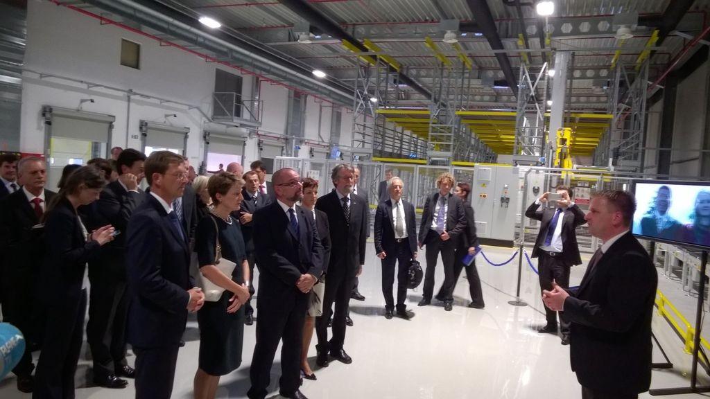V Lendavi odprli največjo Novartisovo naložbo v Sloveniji