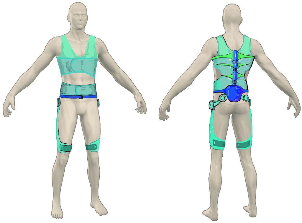 Roboti za industrijo in preprečevanje poškodb hrbta