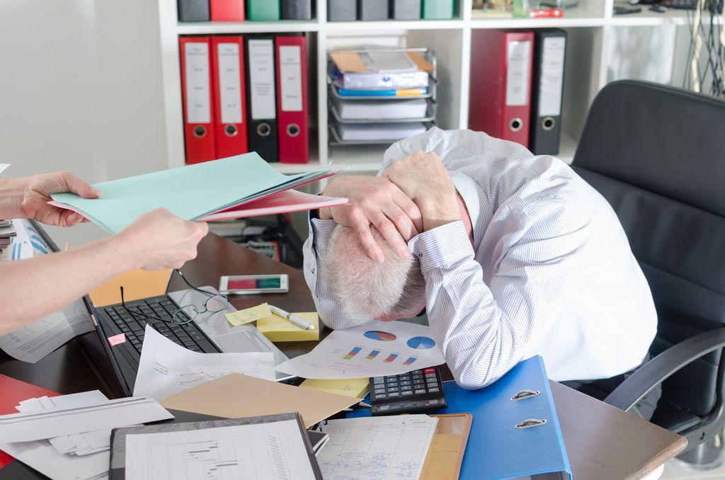 Vse več odsotnosti z dela zaradi stresa