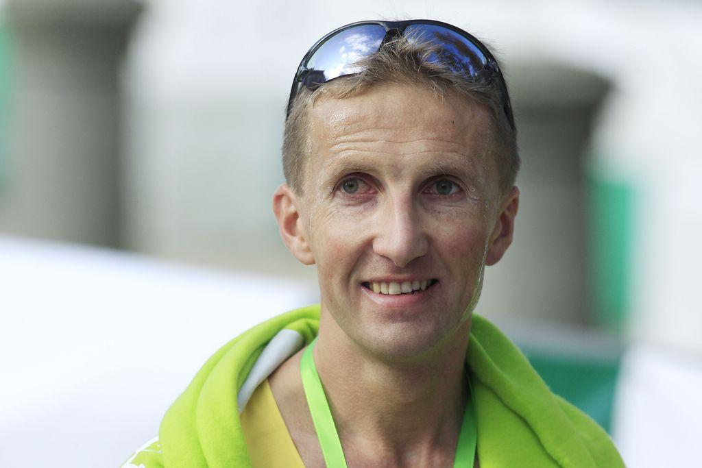 Anton Kosmač z maratona v Zagrebu na OI v Rio