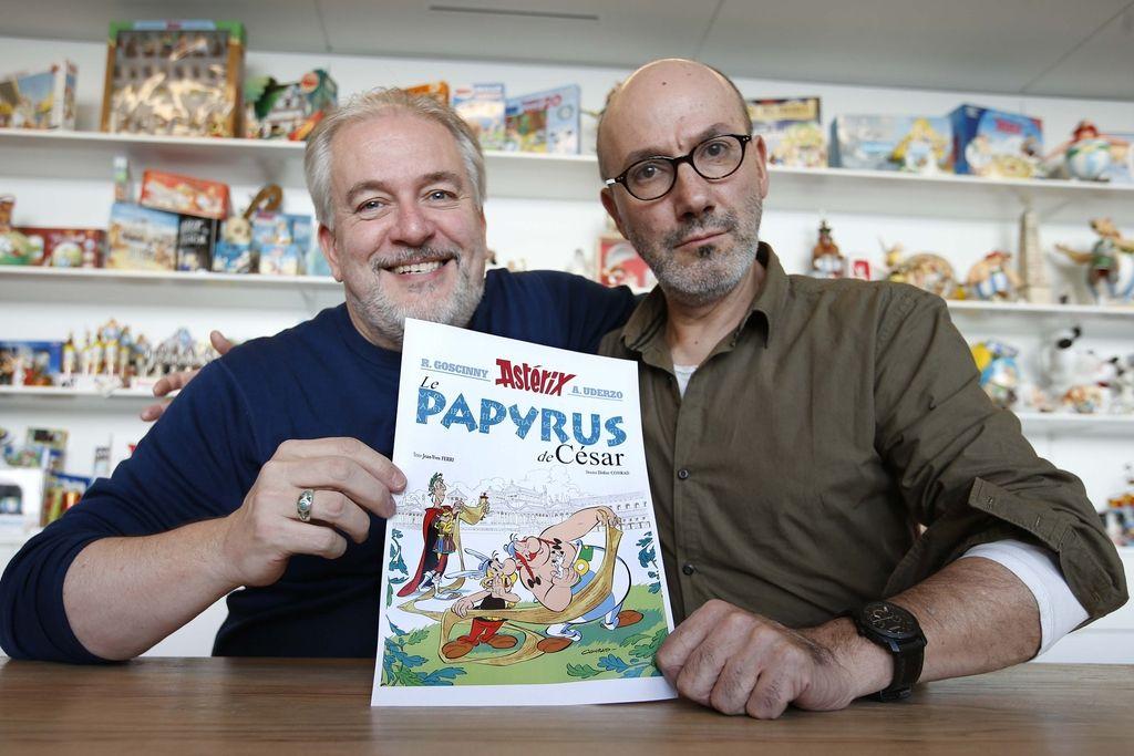 Najnovejši Asterix bo poklon Assangeu in Wikileaksu