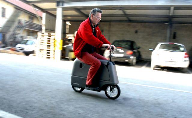Boris Kunc/izumitelj  mobilnega kovčka