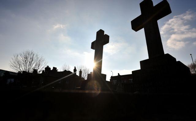 afp pokopališče