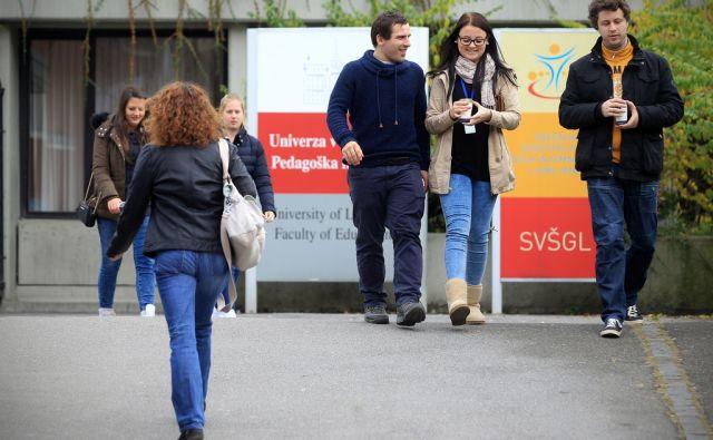 Pedagoška fakulteta v Ljubljani 09.novembra 2015 [Ljubljana,Univerza v Ljubljani,Pedagoška fakulteta,fakultete,študenti]