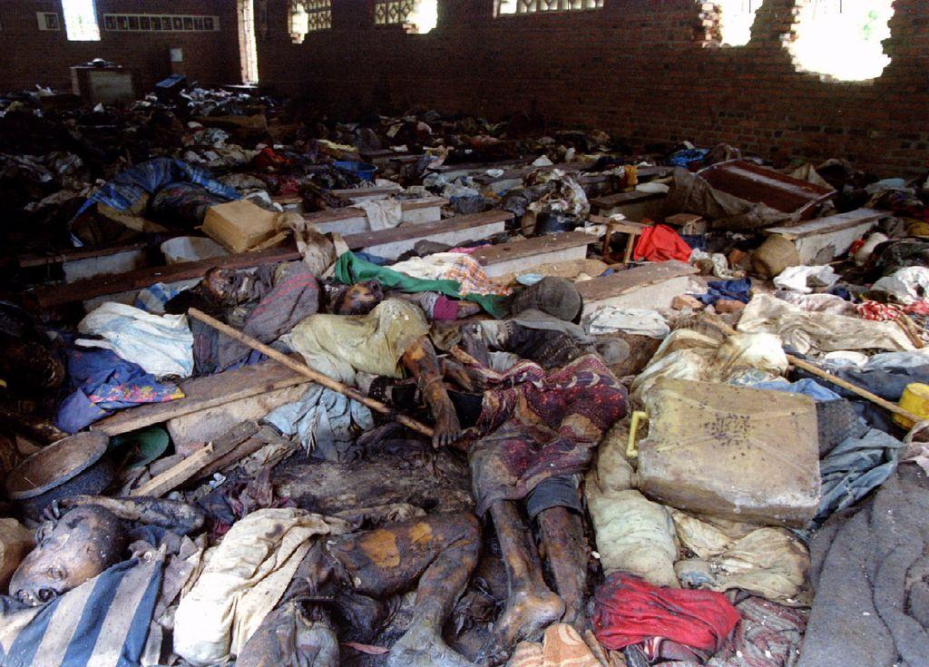 Ruandskih sto dni in 800.000 trupel