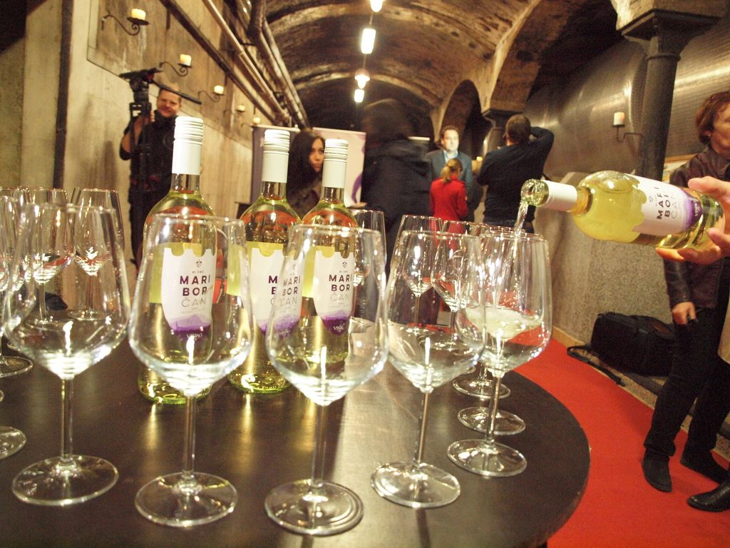 Bela vina pred rdečimi