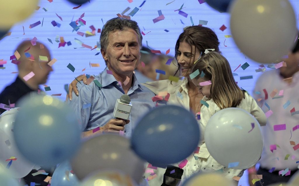 Pod žarometom: Mauricio Macri