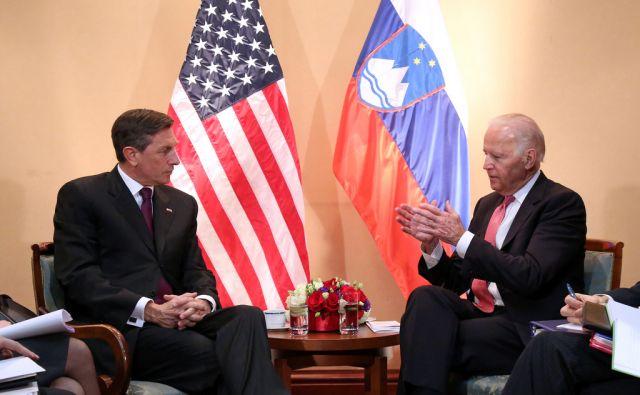 Sastanak Biden - Pahor 251115 Zagreb, 25.11.2015 - Sastanak Boruta Pahora i Joa Bidena u sklopu summita Brdo-Brijuni