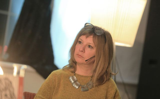 LAURENCICH Alejandra, argentinska pisateljica, 24.11.2015, Maribor [Alejandra Laurencich]