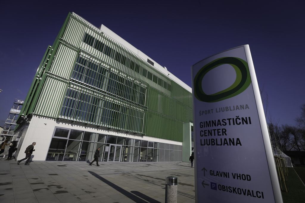 Konec čakanja: Gimnastični center Ljubljana uradno odprt