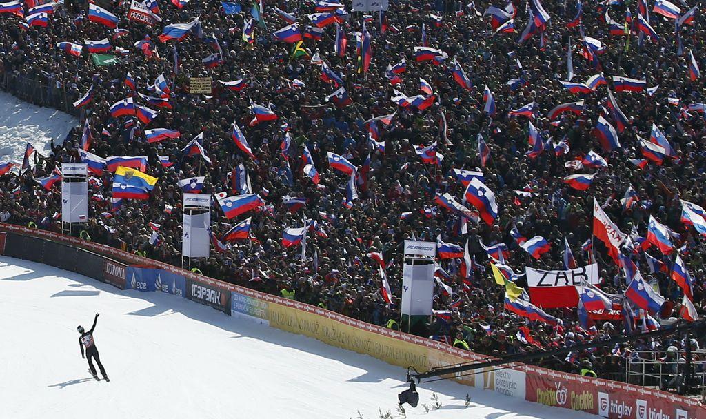 Izjemno zanimanje za skoke v Planici, prireditelji prodali že več kot 70.000 vstopnic