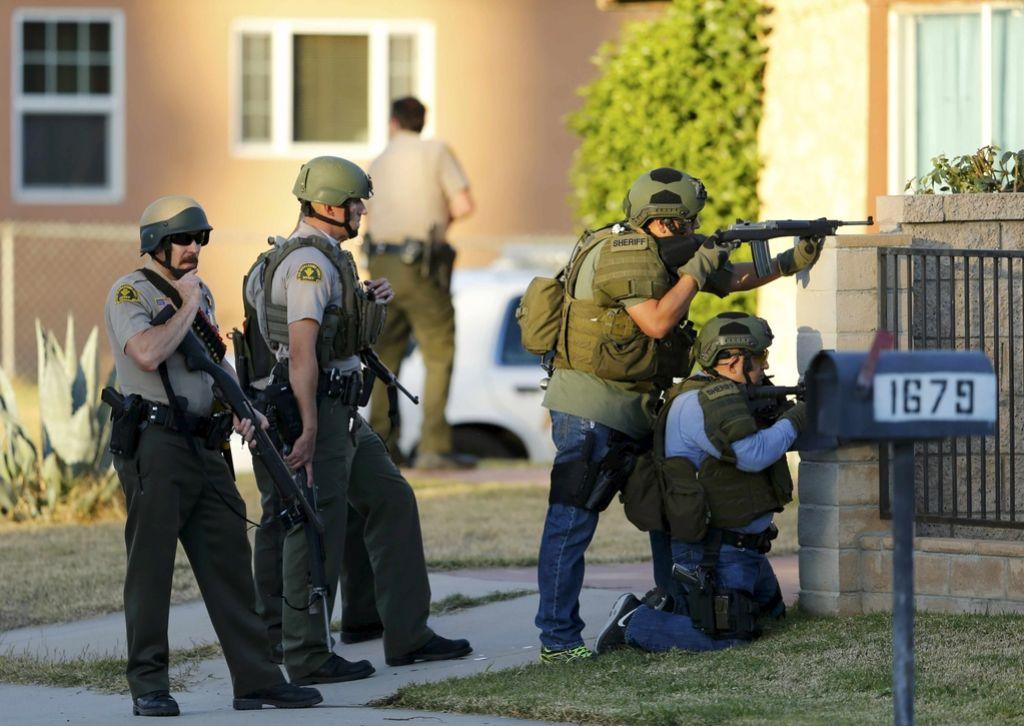 Strelski pokol morda teroristični napad
