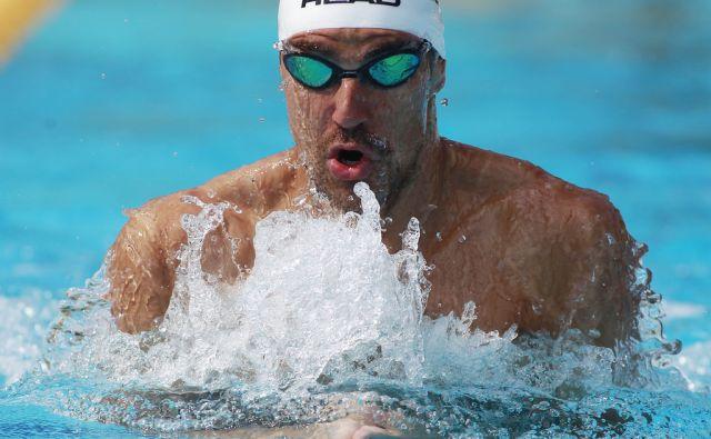 Trening plavalca Damirja Dugonjiča na Ravnah na Koroškem, 14. julija 2015