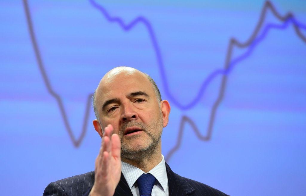 Slabši gospodarski obeti iz Bruslja