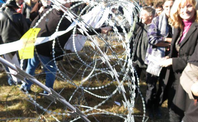 Proti žici v Brezovici