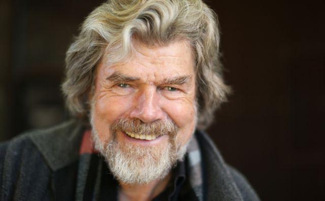 Reinhold Messner svetovno znani alpinist in borec za ohranjanje narave. Bolzano, Italija 2.novembra 2015. [Reinhold Messner,alpinisti]