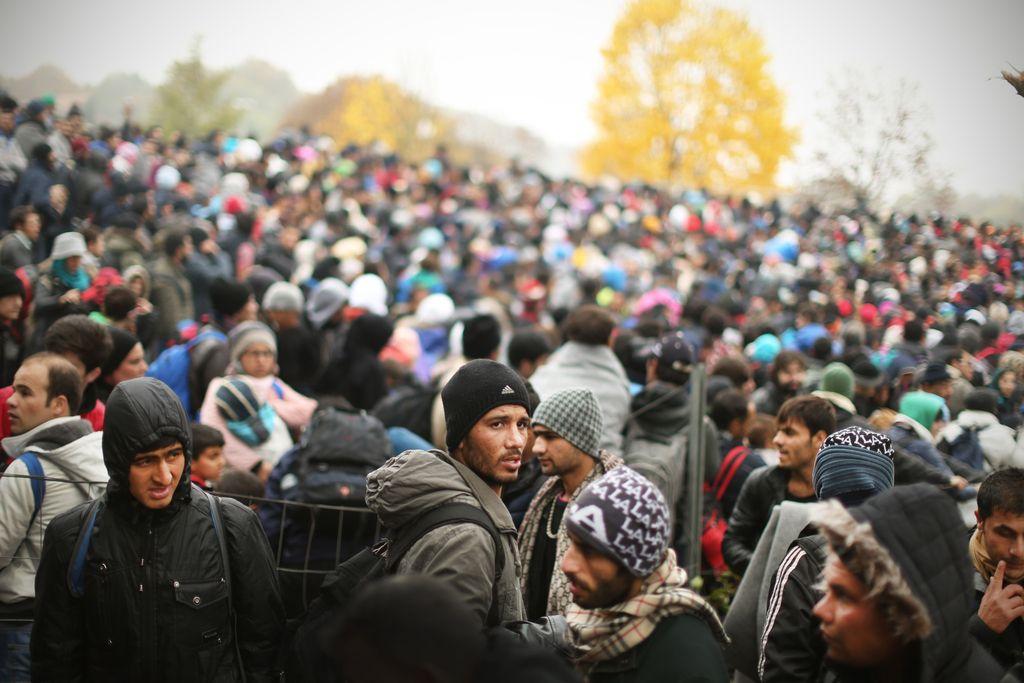 Anketa Dela: Vedno več Slovencev je strah zaradi begunske krize