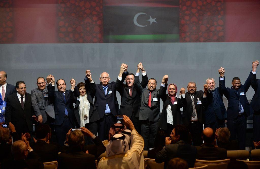 Sprte strani v Libiji oblikovale vlado narodne enotnosti